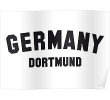 GERMANY DORTMUND Poster