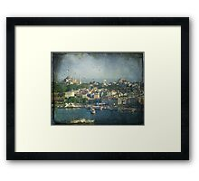 The beating of Istanbul Framed Print