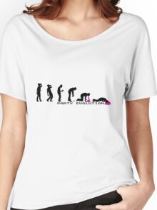 Party Evolution T-Shirt Women's Relaxed Fit T-Shirt