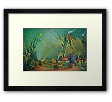 The Road Goes On. Framed Print
