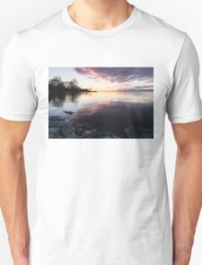 A Great Meditation Spot - Lake Ontario Cove in the Morning Unisex T-Shirt