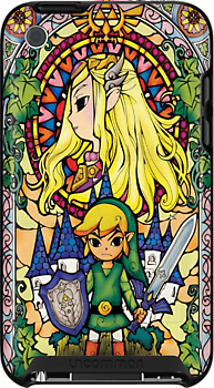Zelda - Stained Glass Case by carnivean