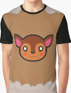 FAUNA ANIMAL CROSSING Graphic T-Shirt