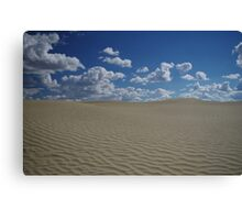 Sand Dune and Blue Sky Canvas Print
