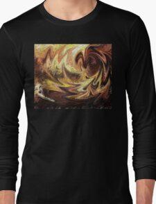 Terrestrial Brush Strokes  Long Sleeve T-Shirt