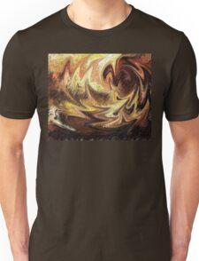 Terrestrial Brush Strokes  Unisex T-Shirt