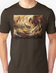 Terrestrial Brush Strokes  T-Shirt