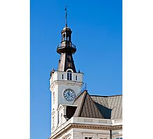 Clock tower. Photographic Print