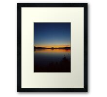 Fintry Sunrise Framed Print