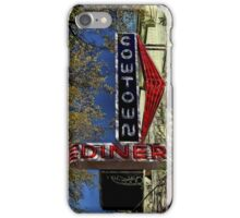 Cowtown Diner Sign iPhone 4 Case iPhone Case/Skin