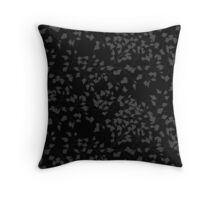 Orange branches Throw Pillow