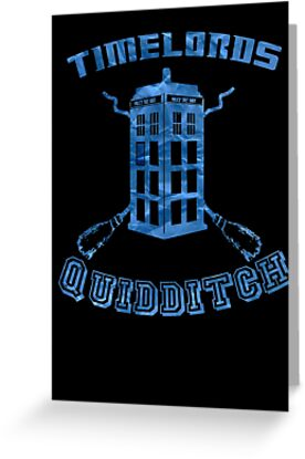 Time Lords Quidditch by atlasspecter