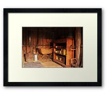 The entry hall Framed Print