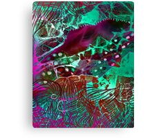 Psych Abstract Canvas Print
