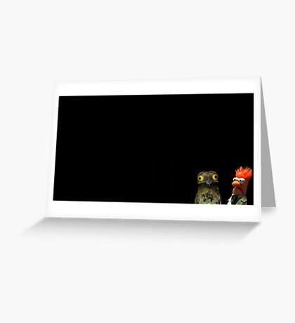 Pootoo and Beaker Greeting Card