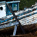 This old boat by Dennis Reagan