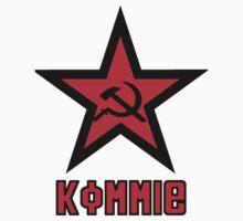 Kommie - Star Logo One Piece - Short Sleeve