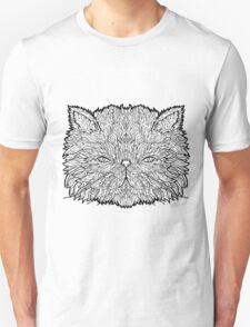 Persian Cat - Complicated Coloring T-Shirt