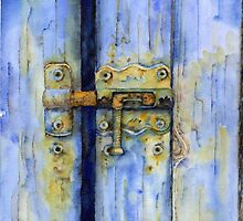 Rusty lock by Tania Richard