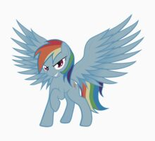 Rainbow Dash with Spread Wings by Marmbo