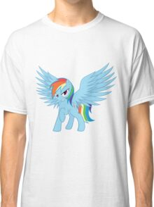 Rainbow Dash with Spread Wings Classic T-Shirt
