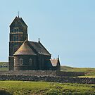Building, Chapel, St. Edwards, Sanday, Inner Hebrides by Hugh McKean