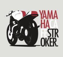 Yamaha TZ Cafe Racer by velocitygallery
