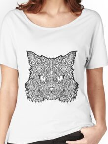 Ragamuffin Cat - Complicated Coloring Women's Relaxed Fit T-Shirt