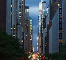 42nd Street , NYC by Wayne Ross