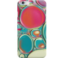 Retro Coloured Oil & Water Drops iPhone Case/Skin