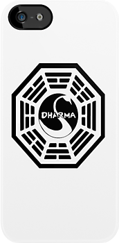 the dharma initiative iphone case by ludlowghostwalk