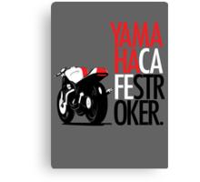 Yamaha TZ Cafe Racer Canvas Print