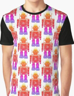 Rainbow robot Graphic T-Shirt