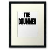 THE DRUMMER (DAVE GROHL / TAYLOR HAWKINS) Framed Print
