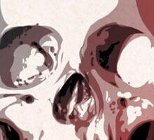 Skull. Sticker