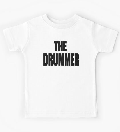 THE DRUMMER (DAVE GROHL / TAYLOR HAWKINS) Kids Tee