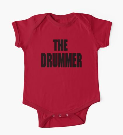 THE DRUMMER (DAVE GROHL / TAYLOR HAWKINS) One Piece - Short Sleeve