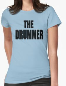 THE DRUMMER (DAVE GROHL / TAYLOR HAWKINS) Womens Fitted T-Shirt
