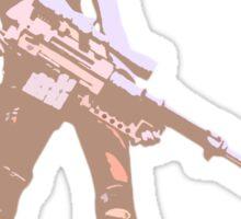 little miss sniper Sticker