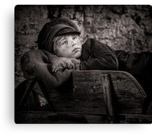 Barrow Boy Canvas Print