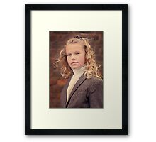 Goldie Locks Framed Print