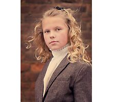 Goldie Locks Photographic Print