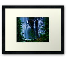 Lower Proxy Falls Framed Print