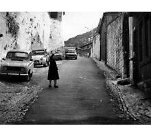 On the Besancon Streets Photographic Print