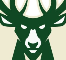 milwaukee bucks deer basketball Sticker