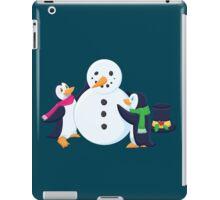 Snowman penguins iPad Case/Skin
