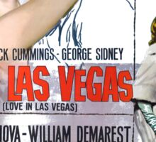 Elvis in Viva Las Vegas(Italian promo) Sticker