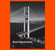 Golden Gate Bridge at Sunset Kids Clothes