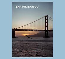 Golden Gate Bridge - Sunset From Torpedo Wharf Unisex T-Shirt