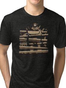 Donkey Colossus - Teefury version Tri-blend T-Shirt
